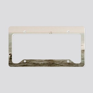 argonaut large framed print License Plate Holder