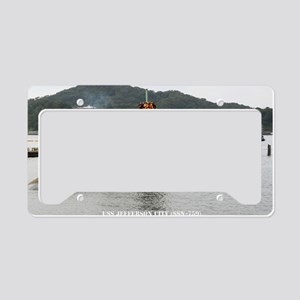 jcity large framed print License Plate Holder