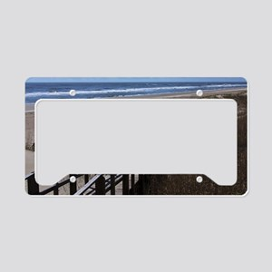 North Carolina Beach Walkway License Plate Holder