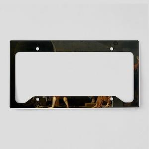 23x35_socreates death License Plate Holder