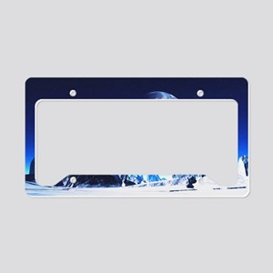 sahr_wall_pell_35_21 License Plate Holder