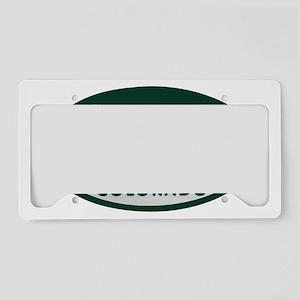 Runner_license_oval License Plate Holder