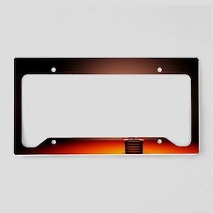 Creativity, conceptual image License Plate Holder
