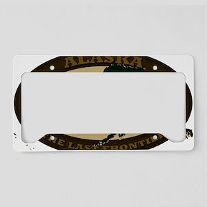 Alaska Est 1959 License Plate Holder