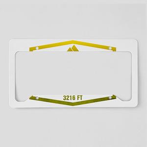 Whiteface Ski Resort New York License Plate Holder