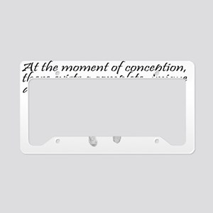 MomentOfConception2 License Plate Holder