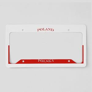 Poland Polska License Plate License Plate Holder