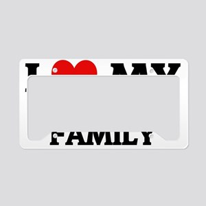 MY AIR FORCE FAMILY License Plate Holder