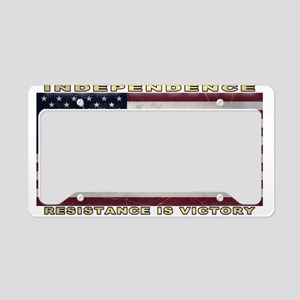 American Flag (1776) License Plate Holder