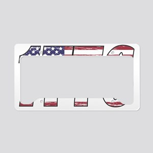 1776 Flag License Plate Holder