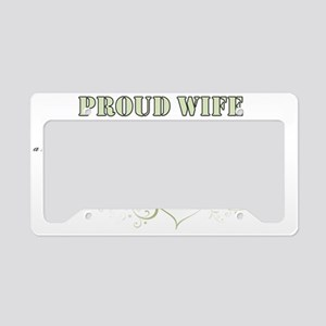 wife License Plate Holder