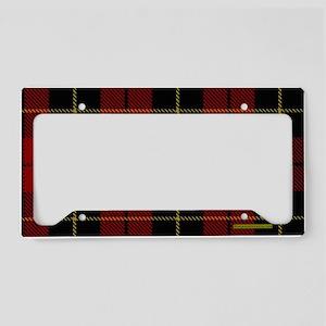 Wallace Tartan Shoulder Bag License Plate Holder