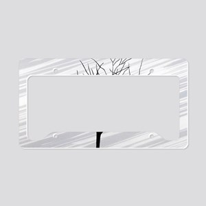 bag shoulder_555_Winter Tree  License Plate Holder
