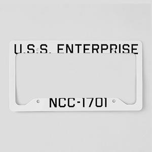 USS ENTERPRISE License Plate Holder