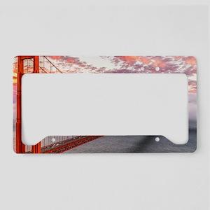 Golden Gate Bridge License Plate Holder