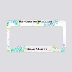 Soap Maker License Plate Holder