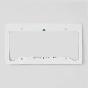 Whiteface Ski Resort License Plate Holder