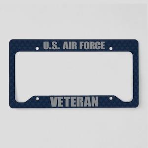 U.S. Air Force Veteran License Plate Holder