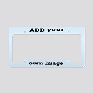Add Image License Plate Holder