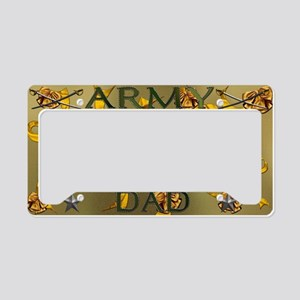 Harvest Moons Army Dad License Plate Holder