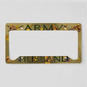 Harvest Moons Army Husband License Plate Holder