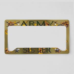 Harvest Moons Army Sister License Plate Holder