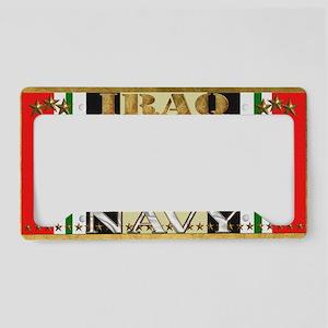 Harvest Moons Navy Iraq Campaign Ribbon License Pl