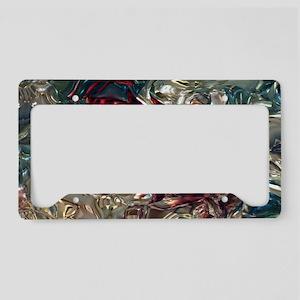 Prism Flower License Plate Holder