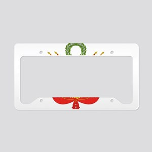 Peru Coat Of Arms License Plate Holder