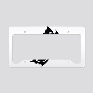 Tribal Butterfly License Plate Holder
