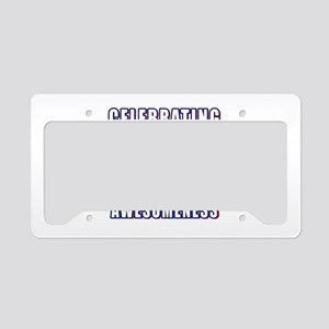30 Years Of Awesomeness License Plate Holder