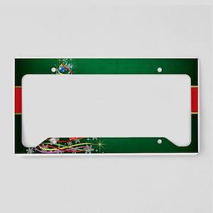 Merry Christmas License Plate Holder