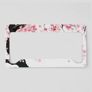 Japanese Cherry Tree License Plate Holder
