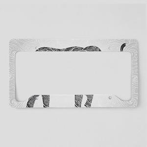 Indian Elephant License Plate Holder