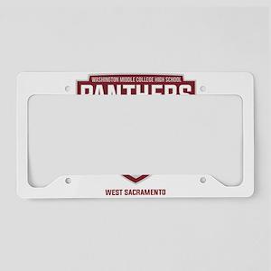 WMCHS WS Logo License Plate Holder