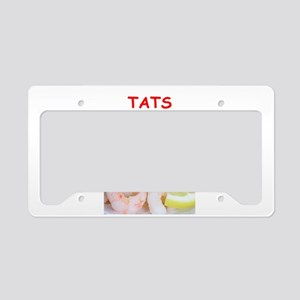 tats License Plate Holder