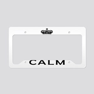 I Am Peruvian I Can Not Keep Calm License Plate Ho