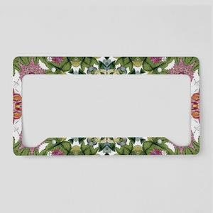 bohemian Chic boho floral License Plate Holder