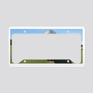 Head on! License Plate Holder