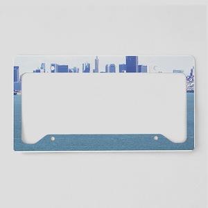 SanFrancisco_11x9_AlcatrazIsl License Plate Holder