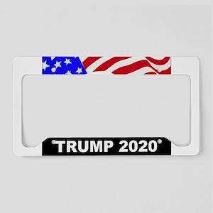 Trump 2020 American Eagle License Plate Holder