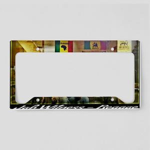 Jah Witness Reggae License Plate Holder