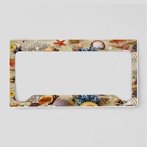 Seashell License Plate Holder