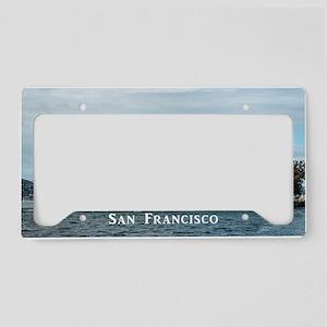 SanFrancisco_18.8x12.6_Alcatr License Plate Holder