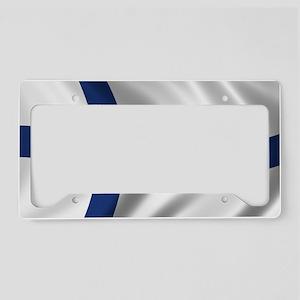 finland_flag License Plate Holder