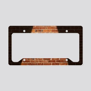 One Way Johnny band logo License Plate Holder
