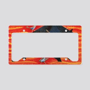 The Boar and The Nightingale  License Plate Holder