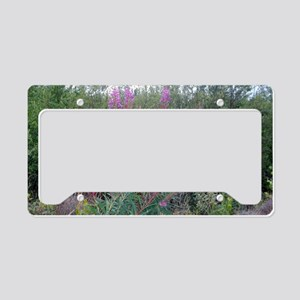 Bush on Fire(weed) License Plate Holder