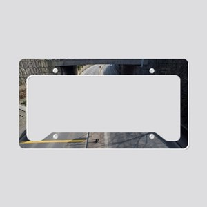 Dual carriageway underpass License Plate Holder