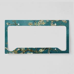 Van Gogh Almond Branches In B License Plate Holder